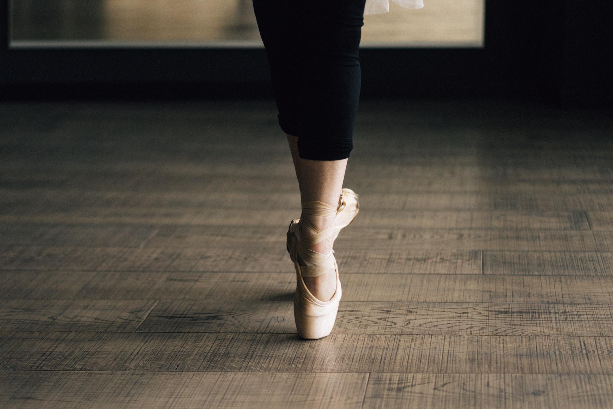 dettaglio punte ballerina